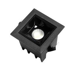Lampa liniowa Led podtynkowa 2W 3000K czarna JDl-1T