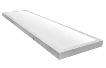 Plafon Natynkowy Biały 120cm X 30cm 60W barwa neutralna